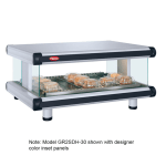 "Hatco GR2SDH-54 60.25"" Self-Service Countertop Heated Display Shelf - (1) Shelf, 120v"