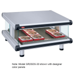 "Hatco GR2SDS-48 54.25"" Self-Service Countertop Heated Display Shelf - (1) Shelf, 120v"