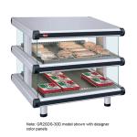 "Hatco GR2SDS-48D 54.25"" Self-Service Countertop Heated Display Shelf - (2) Shelves, 208v/1ph"