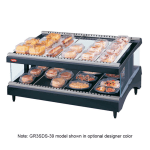"Hatco GR3SDS-39 39.18"" Self-Service Countertop Heated Display Shelf - (2) Shelves, 120v"