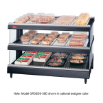 "Hatco GR3SDS-39D 39.18"" Self-Service Countertop Heated Display Shelf - (3) Shelves, 208v/1ph"