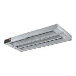 "Hatco GRAHL-132D3 132"" Foodwarmer, Dual w/ 3"" Space, High Watt & Lights, 208v/1ph"