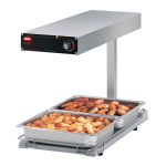Hatco GRFFBL Glo-Ray Portable Food Warmer, 870 Watts