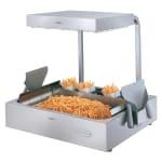 "Hatco GRFHS-PT16 21.63"" Glo-Ray® Countertop Fry Holding Station - Rod-Type, Pass-Thru, 120v"