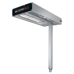 "Hatco GRFSCL-18 9"" Glo-Ray® Heat Lamp - Strip-Type, 120v"