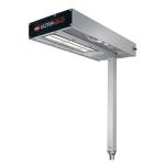 "Hatco GRFSCLR-18 9"" Glo-Ray® Heat Lamp - Strip Type, No Cord/Plug"