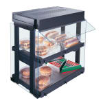 Hatco GRHW-1SGD Mini-Merchandising Warmer, Heated Glass-Shelf & Breath Protector