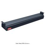 "Hatco GRN-18 18"" Narrow Infrared Foodwarmer, Black, 120 V"