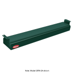"Hatco GRN-18 18"" Narrow Infrared Foodwarmer, Hunter Green, 120 V"