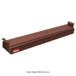 "Hatco GRN-18 18"" Narrow Infrared Foodwarmer, Antique Copper, 240 V"