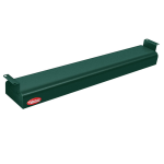 "Hatco GRN-24 24"" Narrow Infrared Foodwarmer, Hunter Green, 120 V"