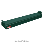 "Hatco GRN-30 30"" Narrow Infrared Foodwarmer, Hunter Green, 120 V"