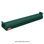 "Hatco GRN-30 30"" Narrow Infrared Foodwarmer, Hunter Green, 208 V"