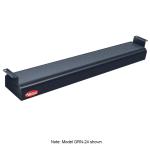"Hatco GRN-36 36"" Narrow Infrared Foodwarmer, Black, 120 V"