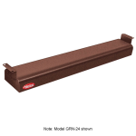 "Hatco GRN-48 48"" Narrow Infrared Foodwarmer, Antique Copper, 120 V"