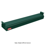 "Hatco GRN-48 48"" Narrow Infrared Foodwarmer, Hunter Green, 208 V"