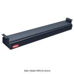 "Hatco GRN-48 48"" Narrow Infrared Foodwarmer, Black, 240 V"