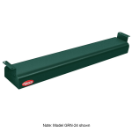 "Hatco GRN-48 48"" Narrow Infrared Foodwarmer, Hunter Green, 240 V"
