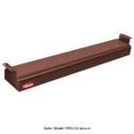 "Hatco GRN-54 54"" Narrow Infrared Foodwarmer, Antique Copper, 120 V"