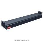 "Hatco GRN-60 60"" Narrow Infrared Foodwarmer, Black, 120 V"