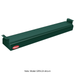 "Hatco GRN-60 60"" Narrow Infrared Foodwarmer, Hunter Green, 120 V"