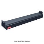 "Hatco GRN-60 60"" Narrow Infrared Foodwarmer, Black, 208 V"