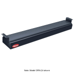 "Hatco GRN-60 60"" Narrow Infrared Foodwarmer, Black, 240 V"