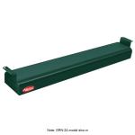 "Hatco GRN-72 72"" Narrow Infrared Foodwarmer, Hunter Green, 240 V"