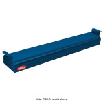 """Hatco GRNH-66 66"""" Narrow Infrared Foodwarmer, High Watt, Navy, 240 V"""