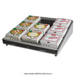 "Hatco GRPWS-3624 34.85"" Heated Pizza Merchandiser w/ 1 Level, 120v"