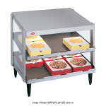 "Hatco GRPWS-4818D Pass-Thru Pizza Warmer w/ Double Slant Shelf, 48 x 18"", 120 V"