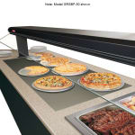 "Hatco GRSBF-48-I 49.5"" Drop In Heated Shelf w/ Flush Top, 21"" W, 120 V"
