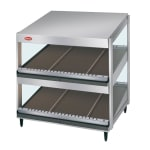 "Hatco GRSDS-24D 24"" Self-Service Countertop Heated Display Shelf - (2) Shelves, 120v"