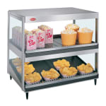 "Hatco GRSDS/H-36D 36"" Self-Service Countertop Heated Display Shelf - (2) Shelves, 120v"