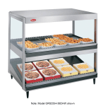 "Hatco GRSDS/H-41DHW 41"" Self-Service Countertop Heated Display Shelf - (2) Shelves, 208v/1ph"