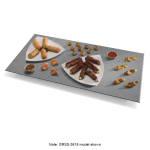 "Hatco GRSS-6018 60"" Portable Heated Stone Shelf, Gray Granite Stone, 120 V"