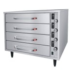 Hatco HDW-2R2 Free Standing Warming Unit w/ 4-Drawer & 2-Pan, Thermostatic Control, Stainless