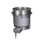 Hatco HWBHRN-7QT 7-qt Drop-In Soup Warmer w/ Infinite Controls, 120v