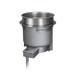 Hatco HWBHRT-7QTD 7-qt Round Heated Well w/ Drain & Rocker Switch, 240 V