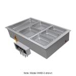 Hatco HWBI-1DA Drop-In Hot Food Well w/ (1) Full Size Pan Capacity, 120v