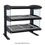 "Hatco HZMH-60D 63.9"" Self-Service Countertop Heated Display Shelf - (2) Shelves, 120v/208v/1ph"