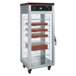 Hatco PFST-1X Pass Thru Tall Dry Holding Cabinet, 1 Door & 8 Shelf Rack