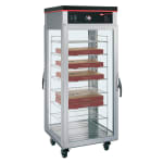 Hatco PFST-2X Pass Thru Tall Dry Holding Cabinet, 2 Doors & 8 Shelf Rack