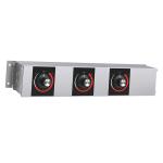 """Hatco RMB-14A 14"""" Remote Control Box w/ 3"""" Finite Switches for 120 V"""