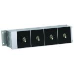 """Hatco RMB-7E 9"""" Remote Control Box w/ 4 Toggle Switches for 120, 208, & 240v"""