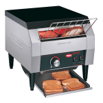 "Hatco TQ-10 Conveyor Toaster - 300 Slices/hr w/ 2"" Product Opening, 120v"