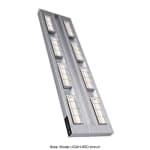 "Hatco UGAH-66D3 66"" Foodwarmer, Dual Ceramic w/ 3"" Spacing, High Watt, 240 V"