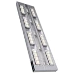 "Hatco UGAL-60D3 60"" Foodwarmer, 2 Ceramic w/ 3"" Space & Lights, 208v/1ph"