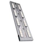 "Hatco UGAL-60D6 60"" Foodwarmer, 2 Ceramic w/ 6"" Space & Lights, 208v/1ph"
