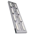 "Hatco UGAL-60D6 60"" Foodwarmer, 2 Ceramic w/ 6"" Space & Lights, 240v/1ph"